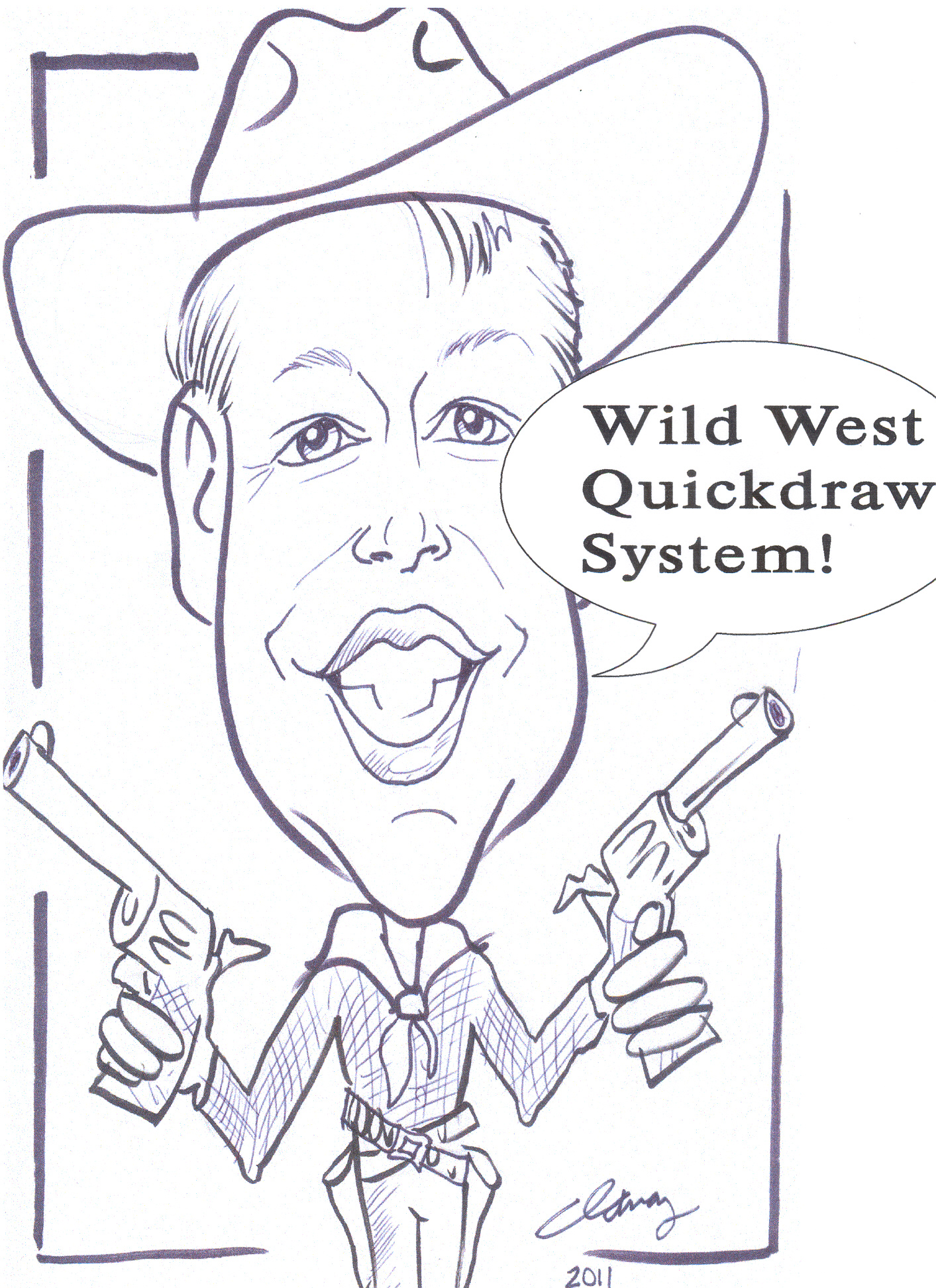 Wild West Quick Draw Michigan Oh In Il